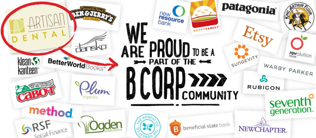 Red Ciricle B CorpCommunity 1 10 showing the concept of Certified B Corporation