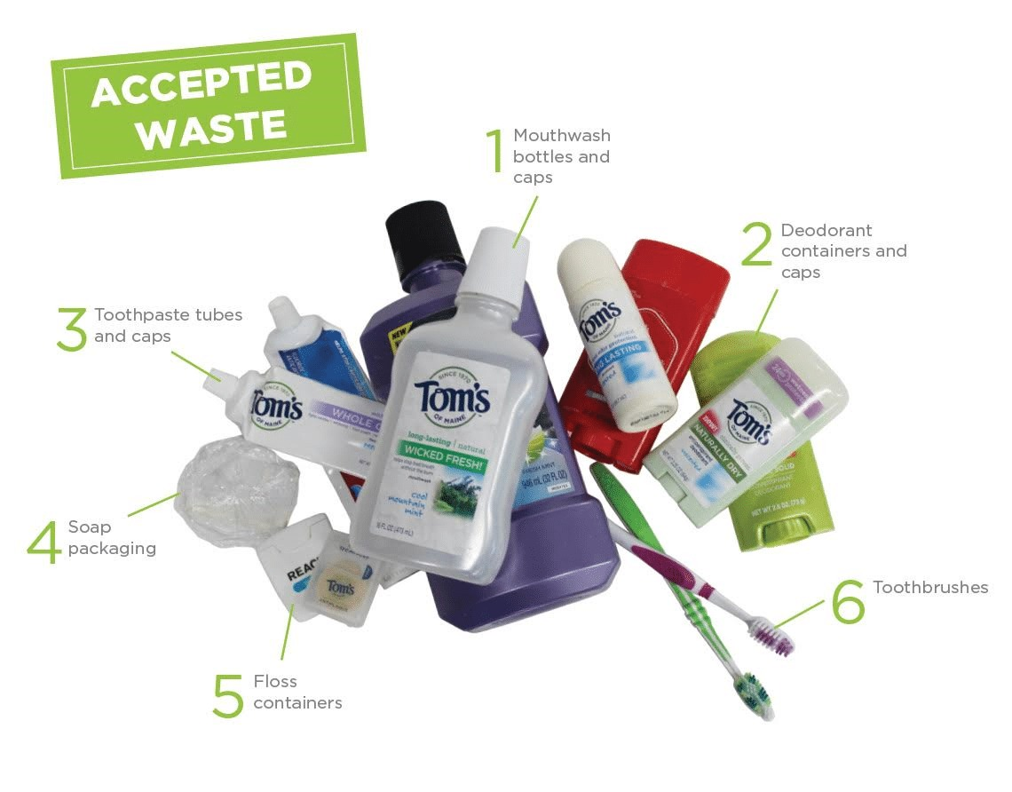 Terracycle items 1 showing the concept of Program Details